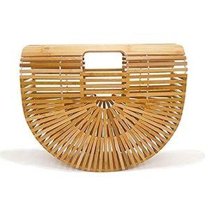 Bamboo beachy handbag 🌴